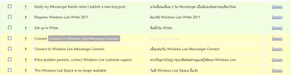 wordpress.com, ภาษาไทย